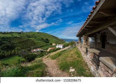 Flysch Klippen in Zumaia, Baskenland, Spanien