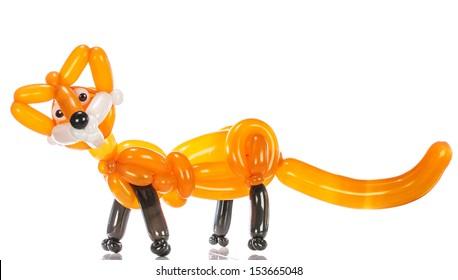 Balloon animal fox