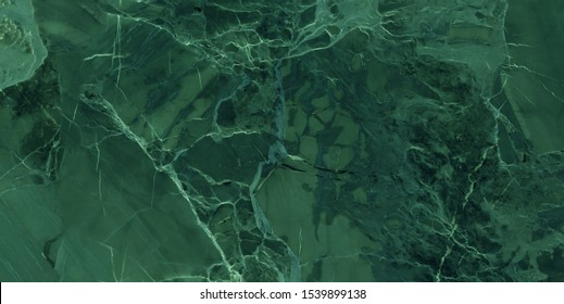 textura de mármol verde. piedra verde natural, baldosas de breccia marbel para revestimientos y pavimentos cerámicos. Textura de mármol brillante para el diseño de azulejos de pared digital, baldosas de cerámica de granito verde.