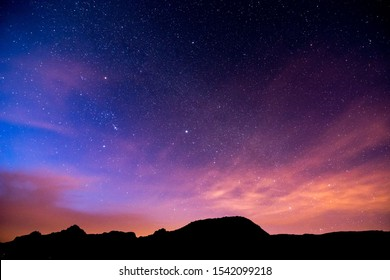 Nachthimmel Bild, schönes digitales Bild