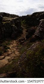 Thingvellir-Nationalpark, Island - berühmter, beliebter Nationalpark am sogenannten Goldenen Kreis im Süden Islands. Hier wurde auch die TV-Show Game of Thrones gedreht.