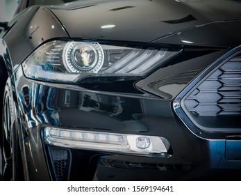 Autoscheinwerfer und Nebelscheinwerfer