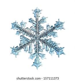 スノーフレーク分離天然水晶