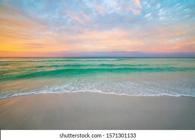 Destin Florida during morning sunrise