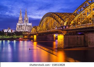 Catedral de Colonia en Colonia, Alemania.