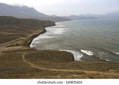 クリミア半島の秋の風景