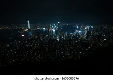 Hong Kong, city view from the peak