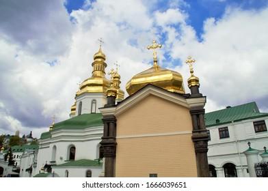 Kirche von Sergius von Radonezh. Kiew - Pechersk Lavra. Ukraine