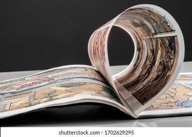 漫画で読書を始める