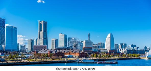 Yokohama Minato Mirai, the port city of Japan