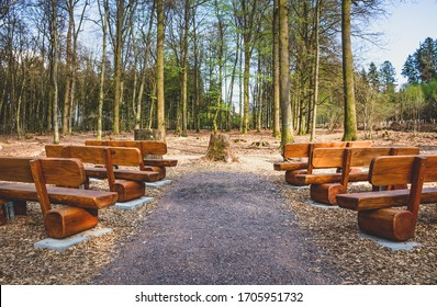Natural burial cemetery place of prayer