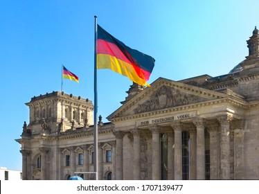 Edificio del parlamento en Berlín, Alemania