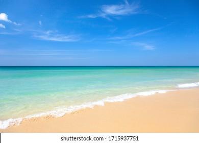 タイのビーチと熱帯の海