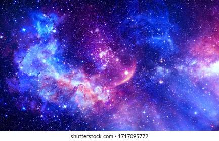 Atemberaubende Galaxie - Elemente dieses Bildes von der NASA eingerichtet