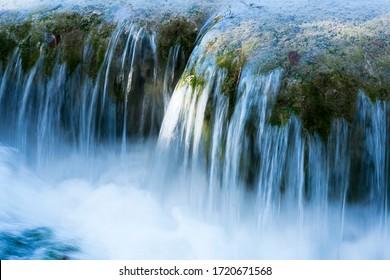 Wasserfall bei langer Exposition