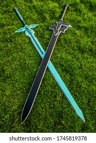 Kirito's swords from sword art online
