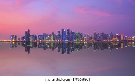 Schönes Corniche Foto | Katar | Doha