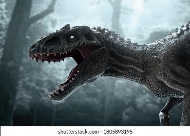 Dinosaurier, Tyrannosaurus Rex im Dschungel