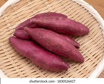 Japanese sweet potatos named Naruto Kintoki.