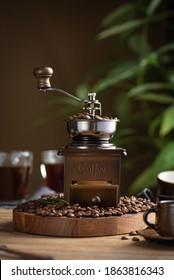 Kaffeebohnen. mittlerer Röstkaffee
