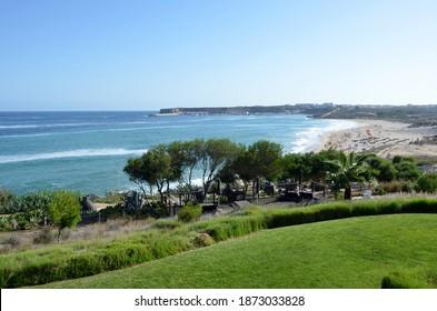 Strand an der Küste der Algarve