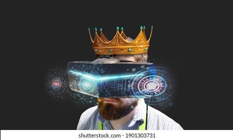 De koning van games gebruikt geavanceerde virtual reality