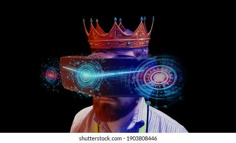 De koning van games gebruikt geavanceerde 3D virtual reality