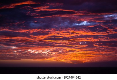 Dramatic cloudy sky sunset view. Dramatic sunset sky. Dramatic sunset sky clouds. Dramatic sunset view