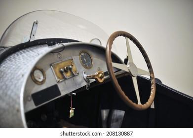 The Dashboard Of Bugatti Brescia