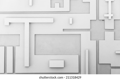 Abstract geometric pattern, sci fi wallpaper background