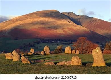 Castlerigg Stone Circle and Blencathra