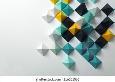Geometrischer Origami-Hintergrund