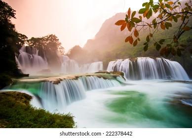 Bangioc - Detian Wasserfall in Caobang, Vietnam
