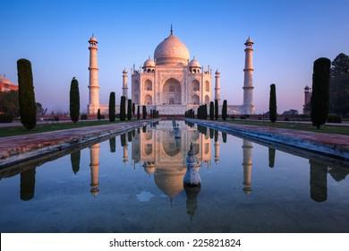 Fabuloso Taj Mahal.