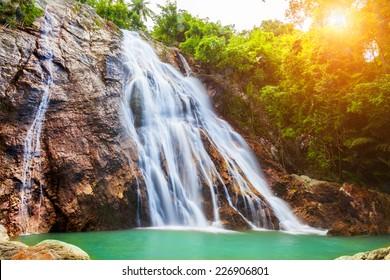 Na Muang 1 Wasserfall, Koh Samui, Thailand