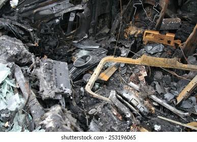 Burn sportinis automobilis - salonas