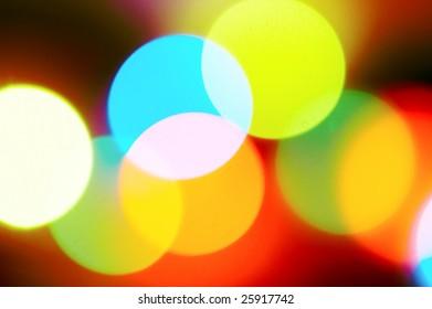 明るい色の光線