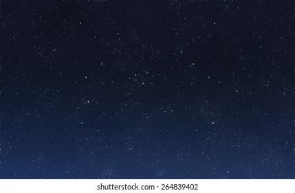 Schöner Nachthimmel