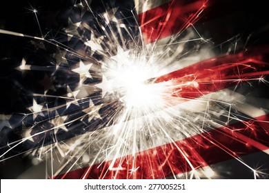 Bandera americana bengala