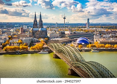 Luftaufnahme von Köln, Deutschland