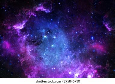 Starfield - Elemente dieses Bildes von der NASA eingerichtet