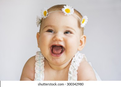 Baby smile -  Image stock