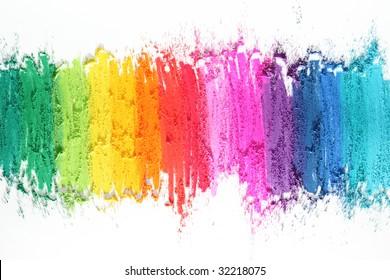 textura de palos de colores pastel