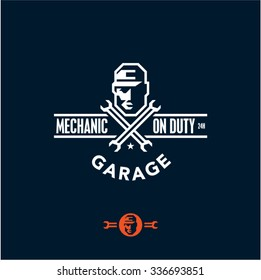 Mechanic Garage Logo Vector Eps Free Download