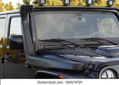 snorkel en coche