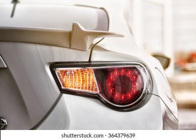 Sports car part