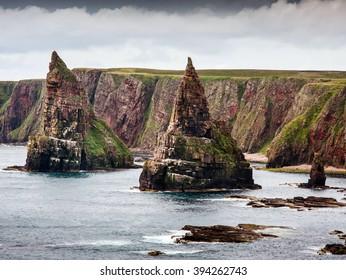スコットランドの北海岸、ジョン・オ・グローツ、ハイランド、イギリス