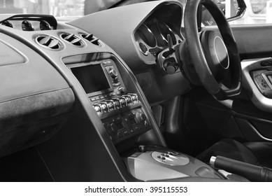 Super car interior