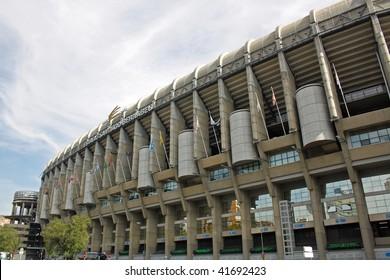 Santiago Bernabeu Stadion in Madrid
