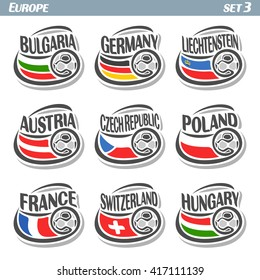 Clip Art Vector - Football german flag. Stock EPS gg71128370 - GoGraph